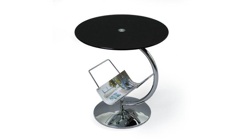 Kohvilaud Halmar Alma Black, 450x450x500 mm