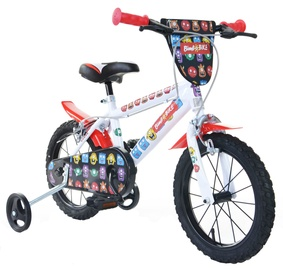 "Laste jalgratas Bimbo Bike 77325 14"" White Red"