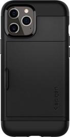 Spigen Slim Armor Cs Back Case For Apple iPhone 12 Pro Max Black