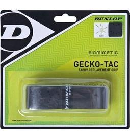 Käepideme teip tennisereketile Dunlop Gecko-Tac, must, 1 tk