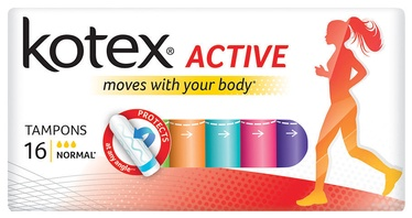 Kotex Active Normal Tampons 16pcs