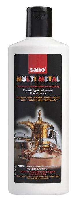 Sano Multi Metal Non Abrasive Cleaner 300ml