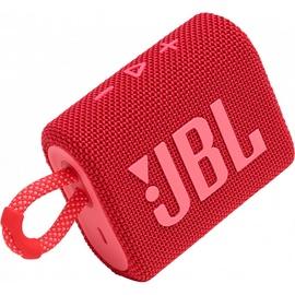 Kaasaskantav kõlar JBL GO 3 IPX7, punane