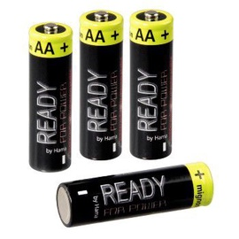 Hama Ready4Power 4 x AA 2400mAh