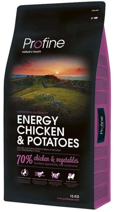 Profine Dog Energy Chicken & Potatoes 15kg