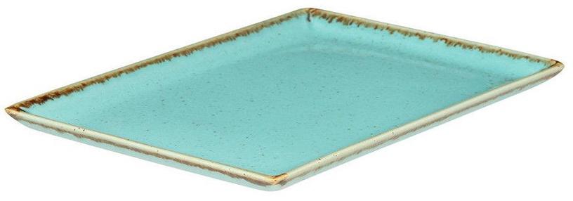 Porland Seasons Serving Plate 27.2x21cm Turquoise