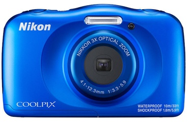 Nikon Coolpix W150 Blue Plus Backpack