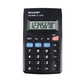 Kalkulaator SHARP EL233SBBK