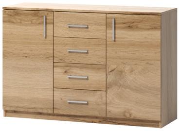 Комод WIPMEB Tatris 03 Wotan Oak, 120x40x80 см