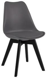 Стул для столовой Signal Meble Kris II Grey/Black
