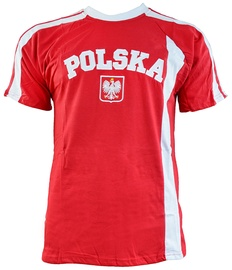 Marba Sport Poland Replica Cotton T-shirt Red L