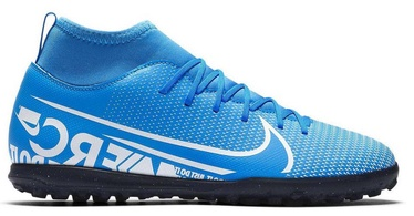 Nike Mercurial Superfly 7 Club TF JR AT8156 414 Blue 38.5