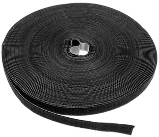 Label The Cable PRO Roll Dual Velcro Roll 25m Black