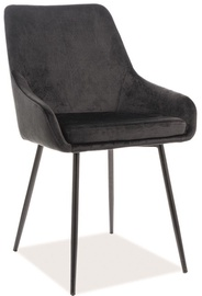 Signal Meble Chair Albi Velvet Black