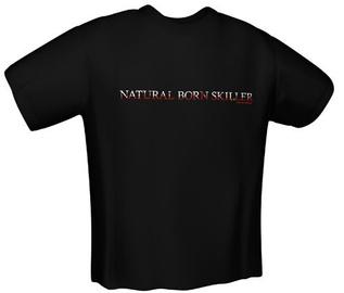 GamersWear Natural Skiller T-Shirt Black M