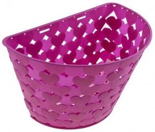 Children Bike Basket Pink 24x16x16cm