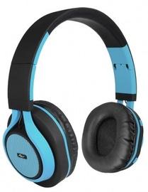 ART AP-B04 Bluetooth Headphones w/Microphone Black/Blue