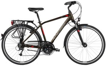 "Jalgratas Kross Trans Alp M 28"" Brown Burgundy Matte 17"