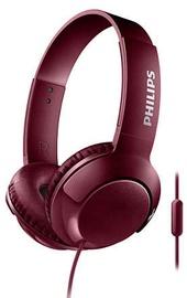 Philips Bass+ SHL3075 Headphones Red