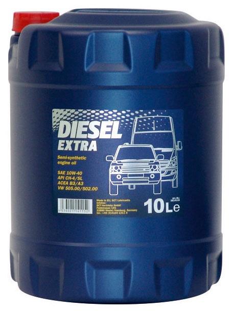 Mootoriõli Mannol Diesel Extra 10W-40, 10l
