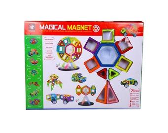 Konstruktor Xinbida Magical Magnet 525050202, 71 tk
