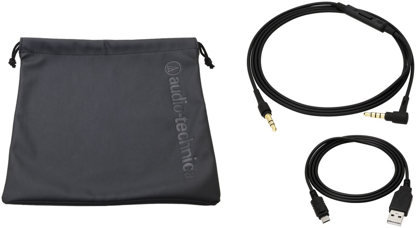 Kõrvaklapid Audio-Technica Sonic Pro ATH-SR5BTBK Black, juhtmevabad