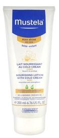 Mustela Dry Skin Nourishing Lotion Cold Body Cream 200ml