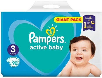 Pampers Active Baby S3 90