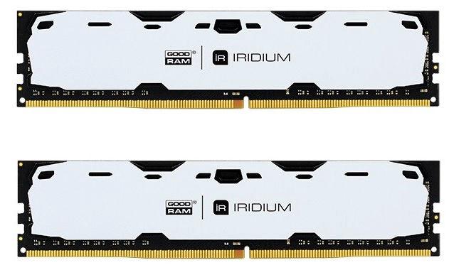 GoodRam IRIDIUM White 16GB 2400MHz CL15 DDR4 DIMM KIT OF 2 IR-W2400D464L15S/16GDC