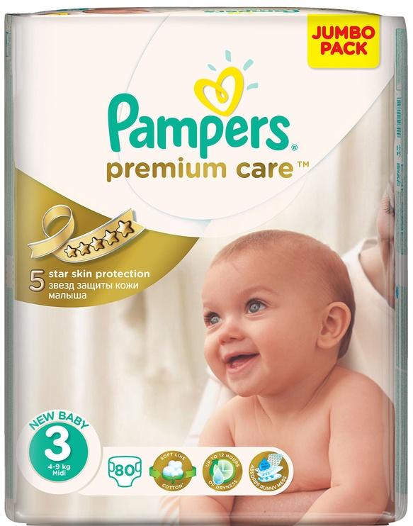 Mähkmed Pampers Premium Care, 3, 80 tk