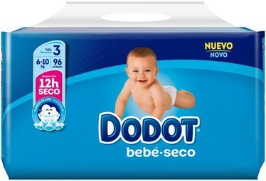Dodot Baby Dry Diapers T3 96pcs