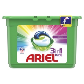 Ariel Color Liquid Tabs 14pcs