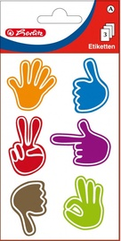 Herlitz Stickers Coloured Hands