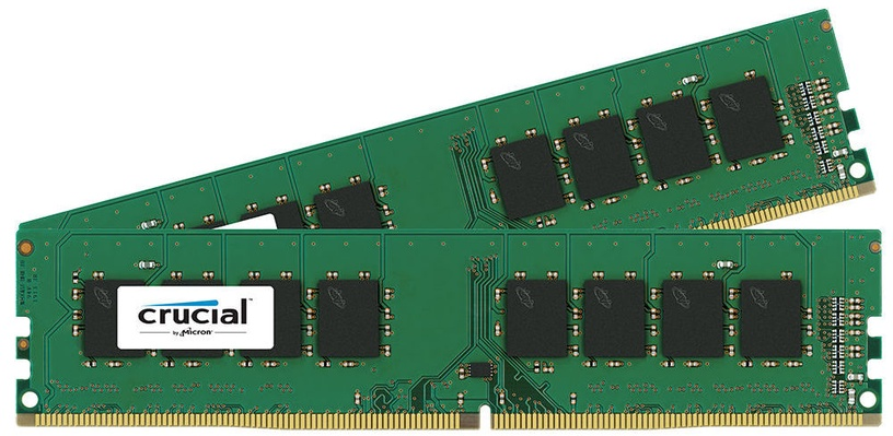 Crucial 16GB 2400MHz DDR4 CL17 UDIMM KIT OF 2 CT2K8G4DFS824A
