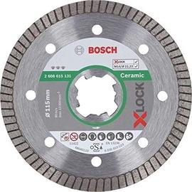 Bosch X-Lock 2608615131 Ceramic Diamond Cutting Disc 115x1.4mm