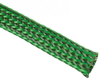 Techflex Flexo PET Sleeve 9mm Green/Black 1m