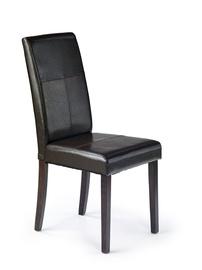 Стул для столовой Halmar Kerry Bis Wenge/Dark Brown