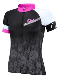 Force Rose Ladies Jersey Black/Pink S