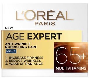 Näokreem L´Oreal Paris Age Expert Anti - Wrinkle Nourishing Care 65+, 50 ml