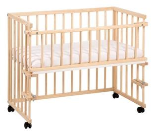 Детская кровать Klups Piccolo Natural, 95x45 см