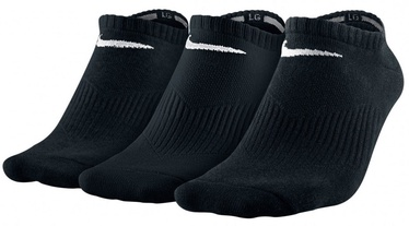Nike Performance No Show Cotton Socks SX4705 001 Black 46-50