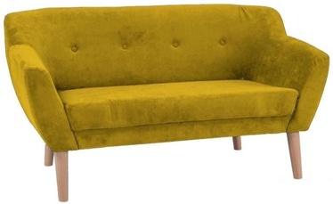 Signal Meble Bergen 2 Sofa Yellow