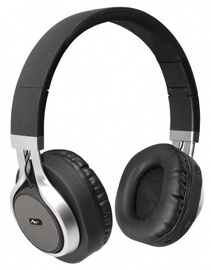 ART AP-B04 Bluetooth Headphones w/Microphone Black/Silver