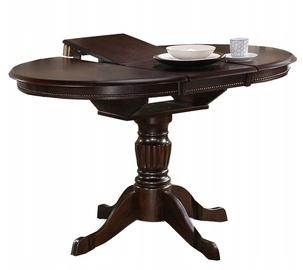 Обеденный стол Halmar William Dark Walnut, 900 - 1240x900x750 мм
