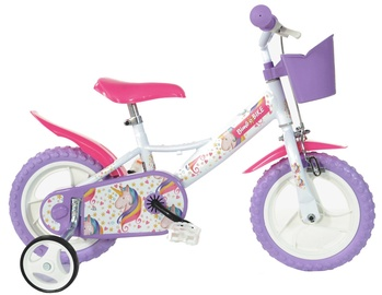 "Laste jalgratas Bimbo Bike 77328 12"" White Violet"