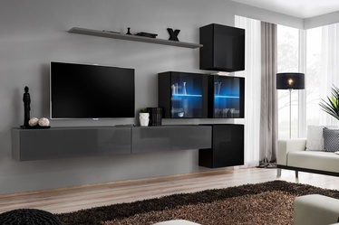 ASM Switch XIX Wall Unit Graphite/Black