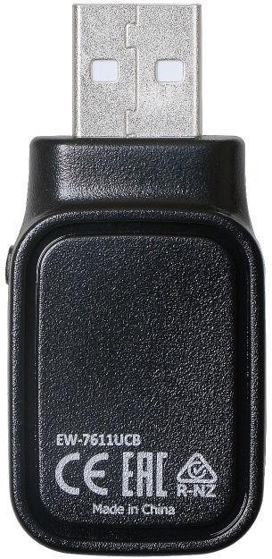 Edimax AC600 Dual-Band Wi-FI & Bluetooth 4.0 USB Adapter EW-7611UCB
