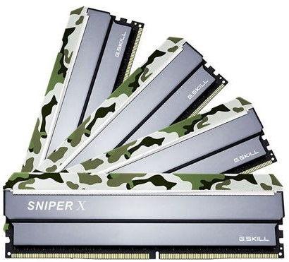 G.SKILL Sniper X Classic Camo 32GB 3200MHz CL16 DDR4 KIT OF 4 F4-3200C16Q-32GSXFB