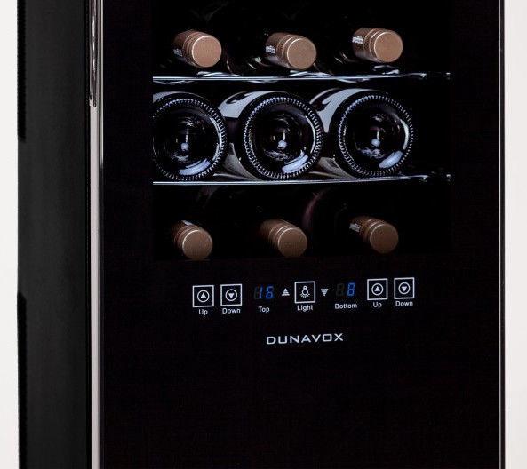 Veinikülmik Dunavox DX24.68DSC Black