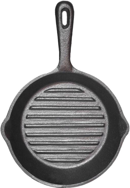 Fissman Grill Pan Cast Iron 26x5cm 4068
